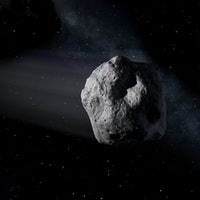 An asteroid the size of a school bus will zip past Earth on Thursday
