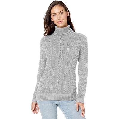 Amazon Essentials Fisherman Cable Turtleneck Sweater