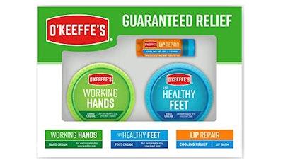 O'Keeffe's Guaranteed Relief Gift Box