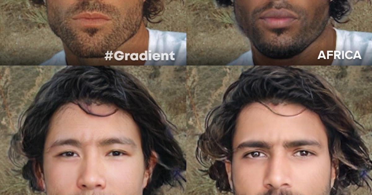 The Gradient photo filter app is digital blackface