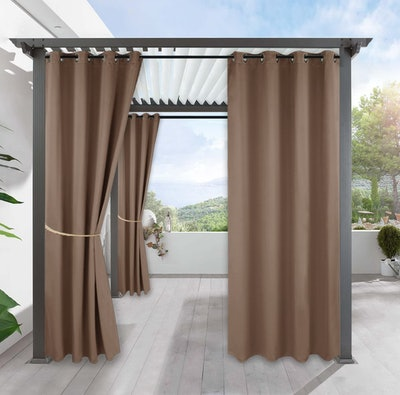 RYB HOME Outdoor Patio Curtains