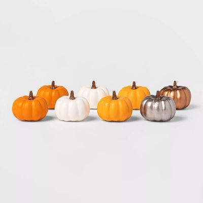 Mini 8 pack pumpkins