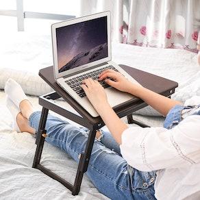 Homfa Foldable Laptop Table