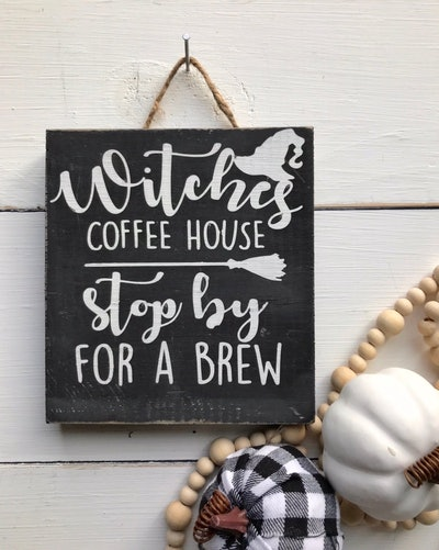 Witch Coffee House Sign