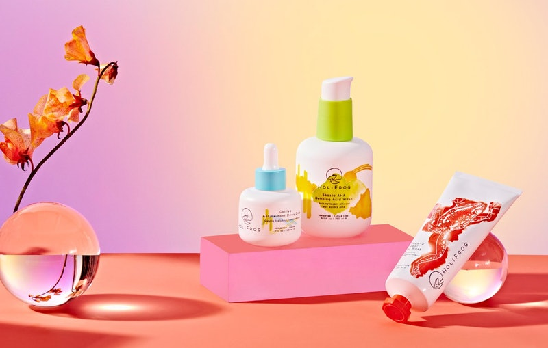 HoliFrog Galilee Antioxidant Dewy Drop  with other products from the skincare brand.