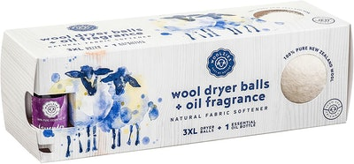 Woolzies Organic Wool Dryer Balls (Lavender Scent)