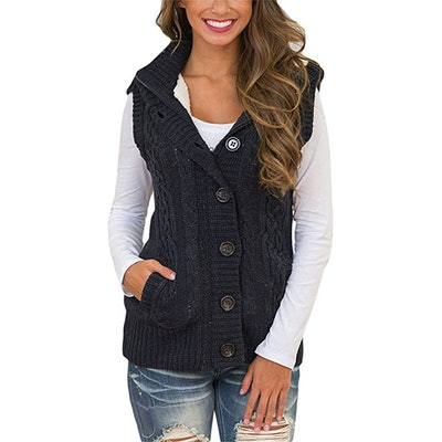 Blibea Hoodie Sweater Vest