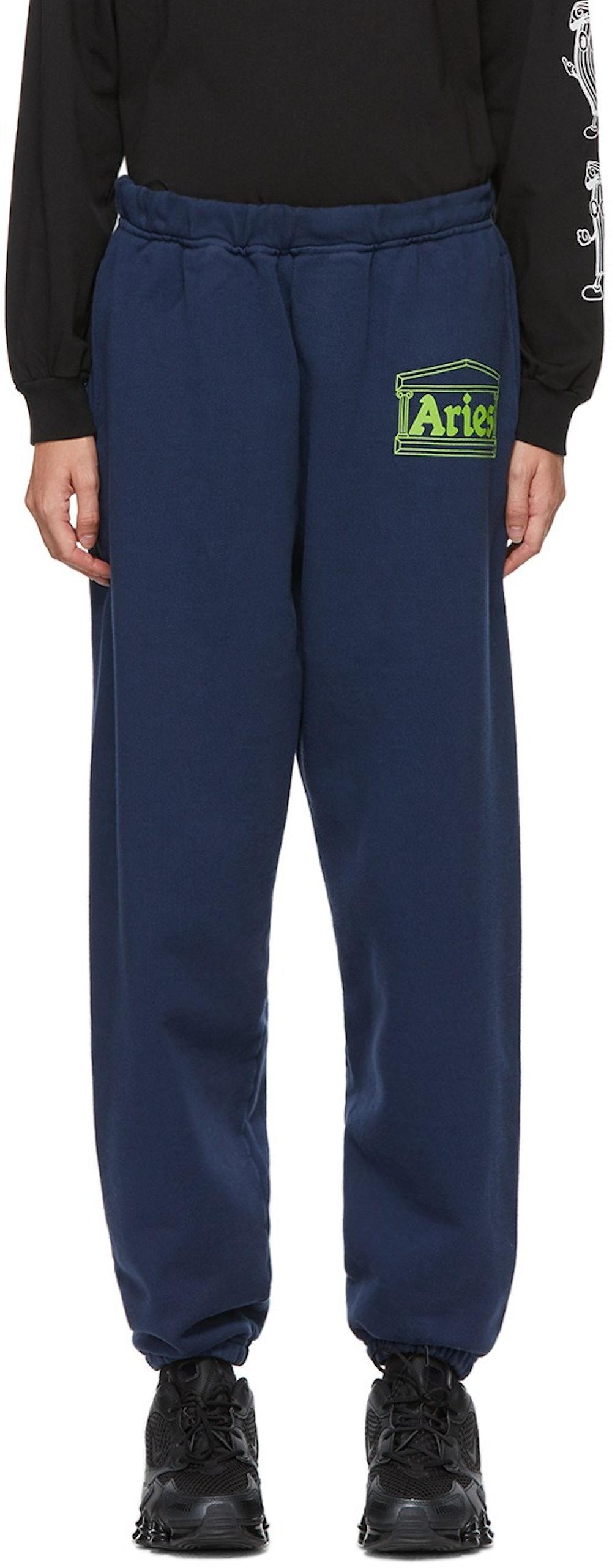 Navy Logo Premium Lounge Pants
