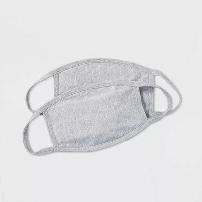 Adult 2pk Fabric Face Mask
