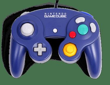 The GameCube controller.