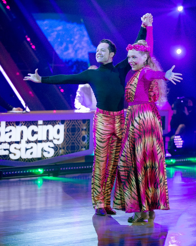 Carole Baskin on Dancing with the Stars via the ABC press site