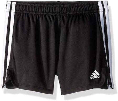 adidas Girls' Big Athletic Shorts