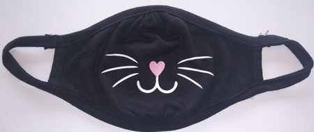 Cat Face Mask For Kids