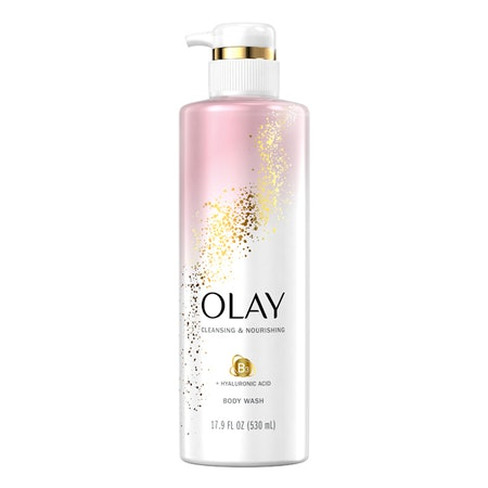 Olay Cleansing & Nourishing Body Wash with Hyaluronic Acid