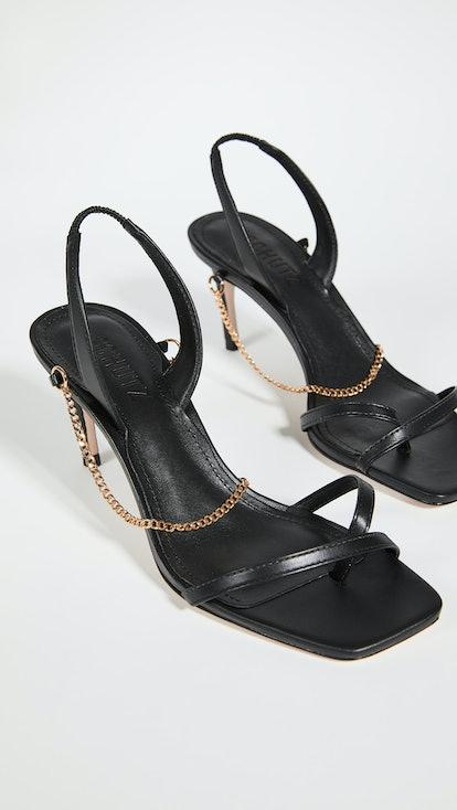 70mm Yareli Mid Stiletto Sandals