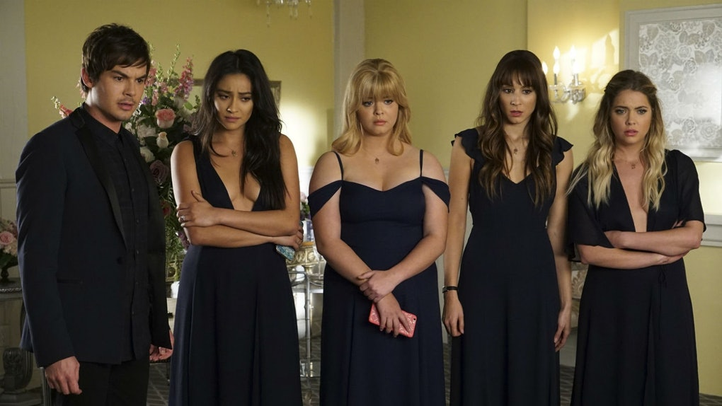 cast of 'Pretty Little Liars'