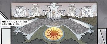 The Mithraic capital.