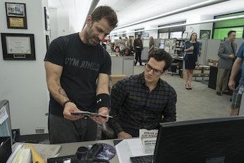 Zack Snyder Henry Cavill