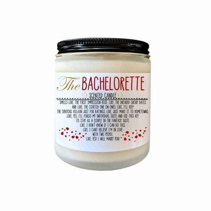 The Bachelorette Candle