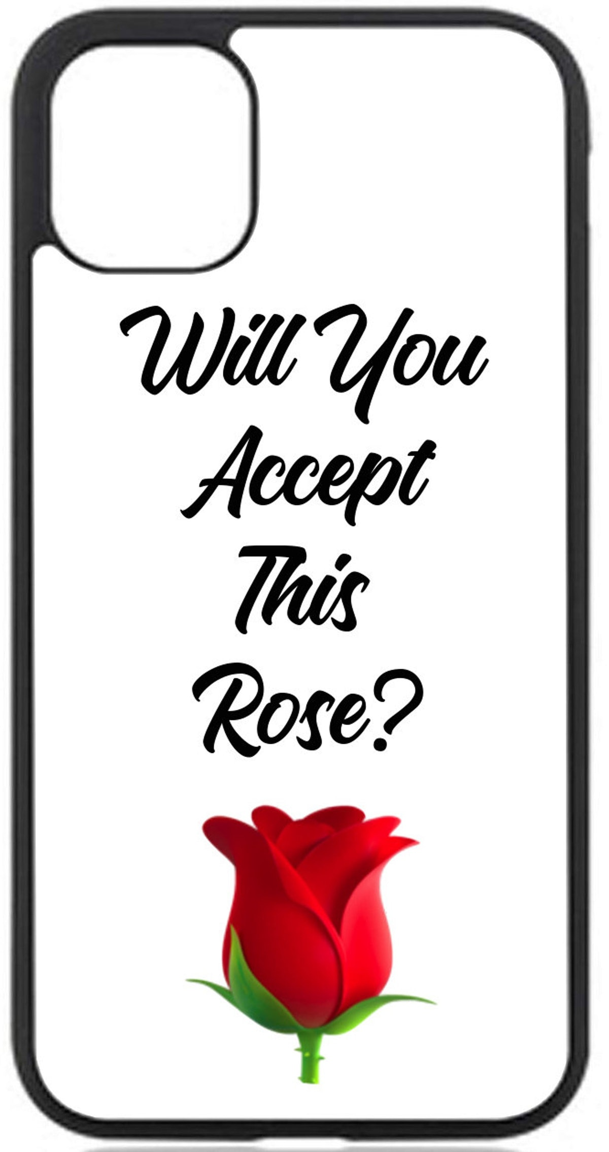 iPhone Case Cover The Bachelor Bachelorette Will You Accept This Rose?