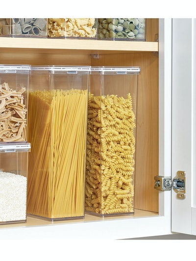 The Home Edit & iDesign Pasta Canister