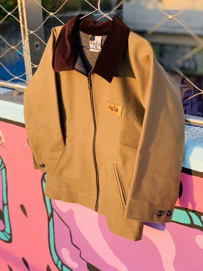 Play Hard Duck Canvas Jacket