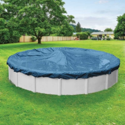 Robelle Winter Round Above-Ground Pool Cover