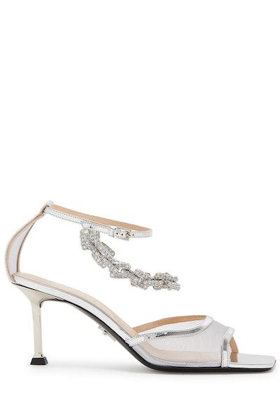 Chiara 75 Embellished Mesh Sandals