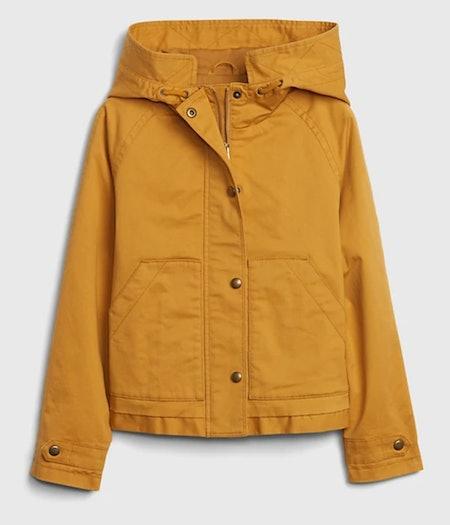 Kids Cropped Utility Jacket