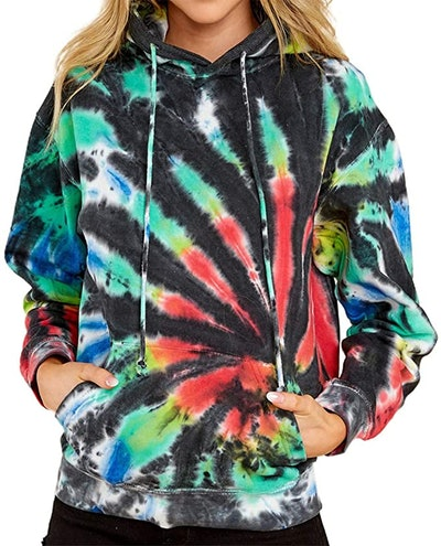 REVETRO Tie Dye Sweatshirt