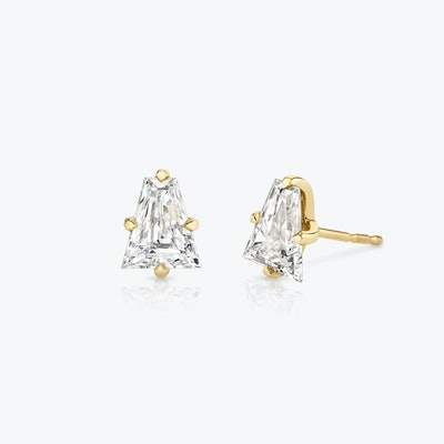 Keystone Diamond Studs