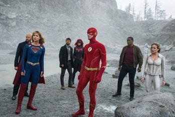 arrowverse the cw flash supergirl