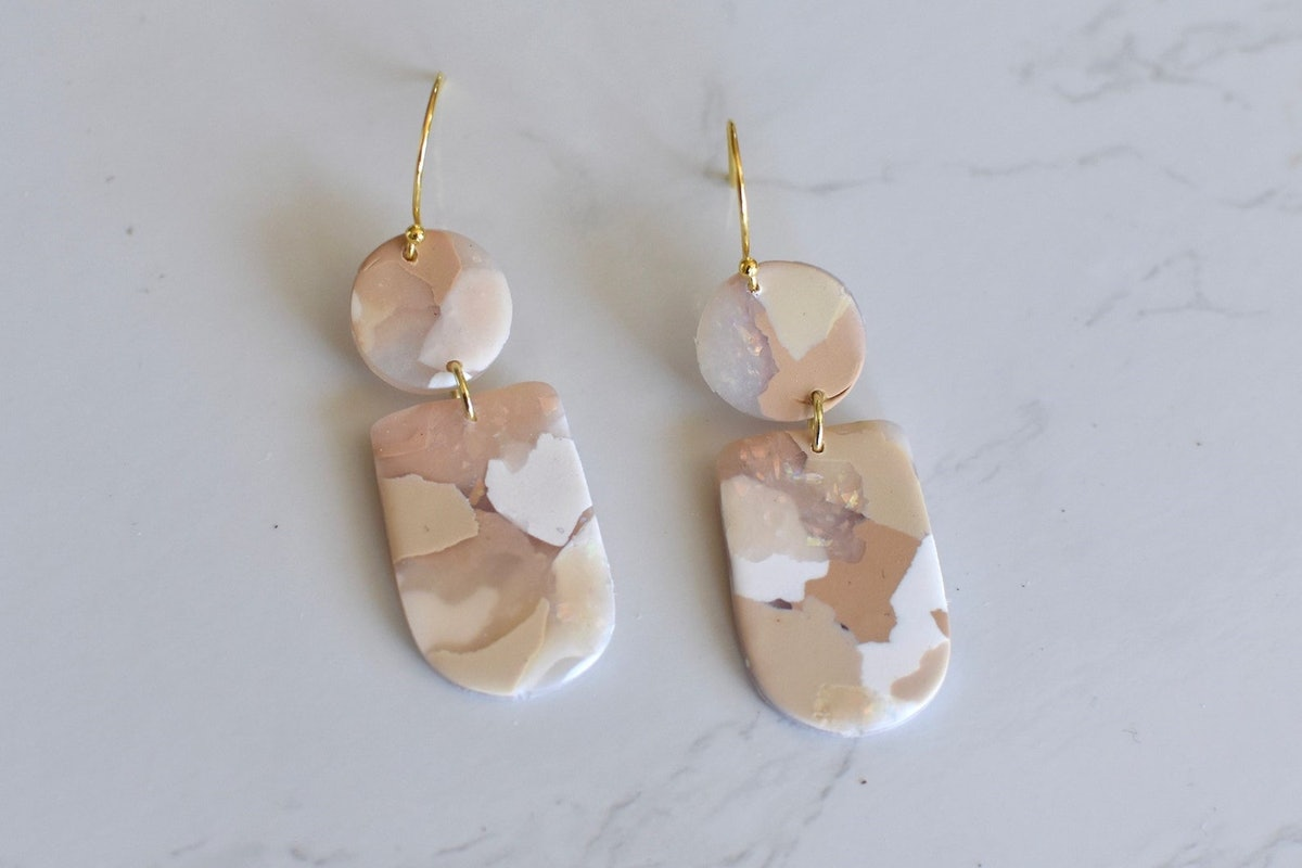 OliveAndSiena The Isola Polymer Clay Earrings