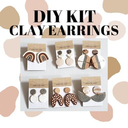 DewDropInc DIY Polymer Clay Earring Kit