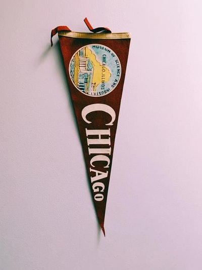 VINTAGE 1960'S-1970'S TRAVEL PENNANT