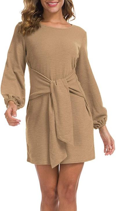 Lionstill Elegant Long Sweater Dress