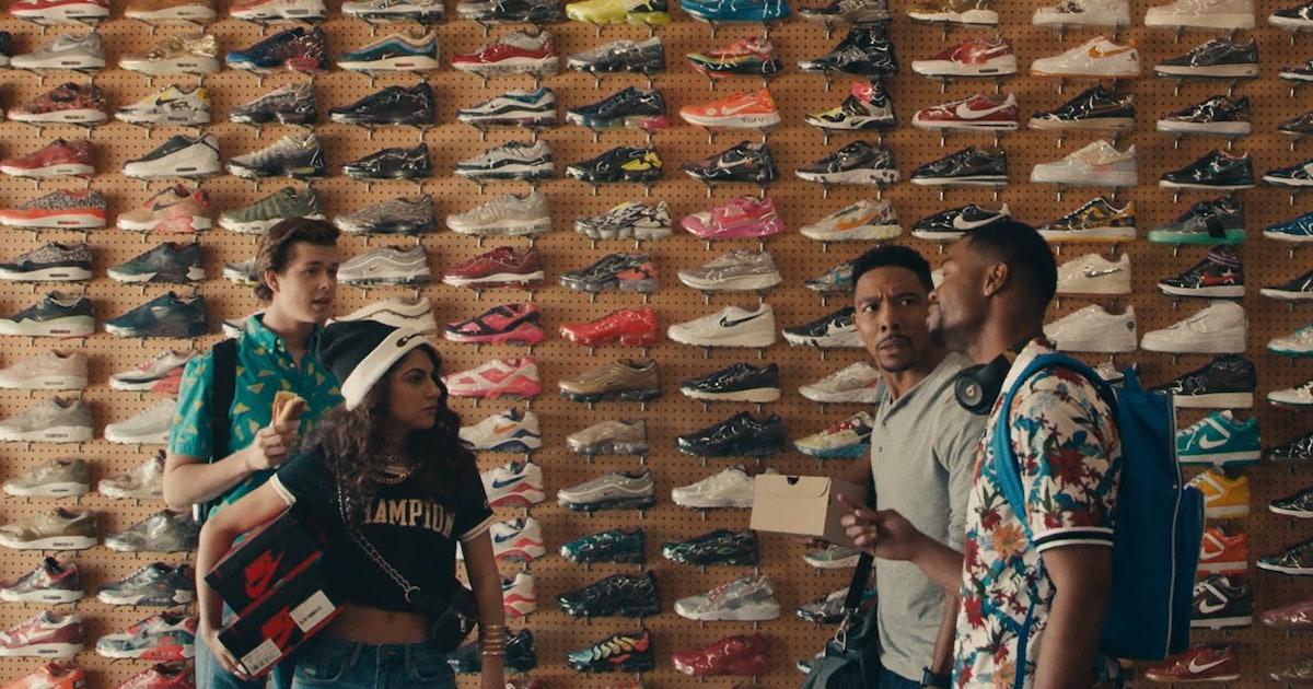How a gift from Michael Jordan inspired Netflix's 'Sneakerheads' show