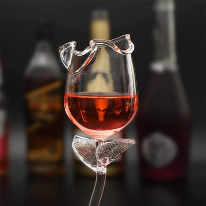 Rose Flower Shape Wine Glass™