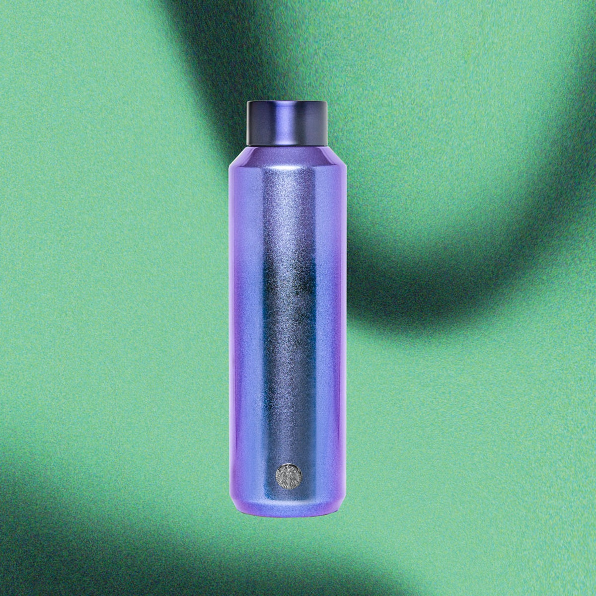 Starbucks' Holiday 2020 tumblers and cold cups include a shimmery Purple Water Bottle.