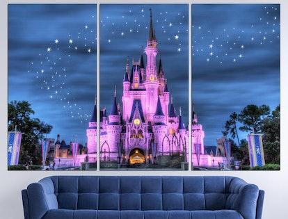 Cinderella Castle Disney Castle Print