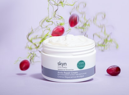 The new cream features ingredients like gooseberry extract, Arctic algae, and colloidal oatmeal.