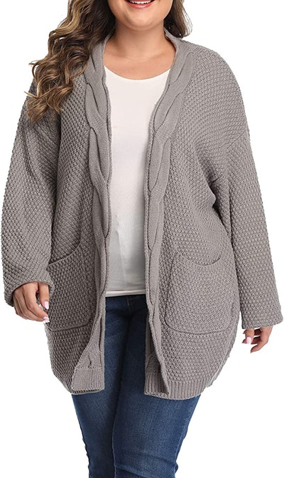 Shiaili Long Plus Size Sweater