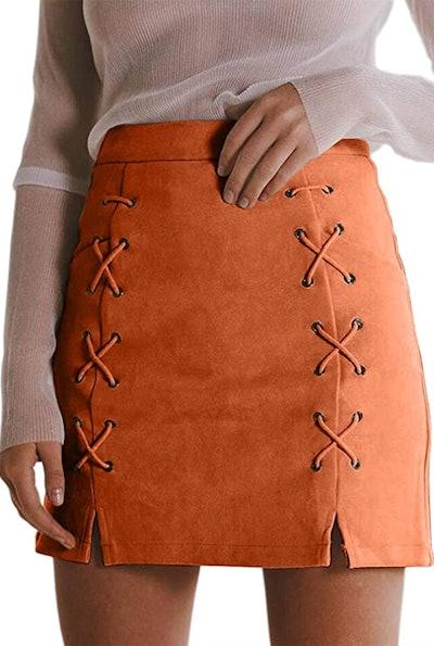 Katiewens High Waist Mini Pencil Skirt