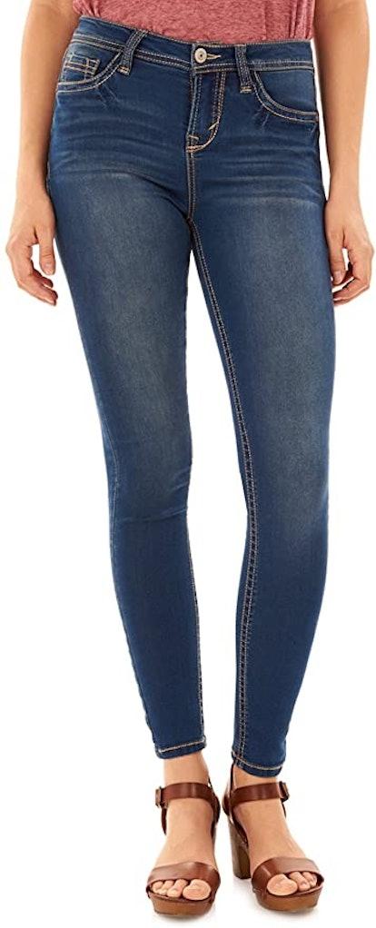 WallFlower Juniors Irresistible Denim Jegging Jeans