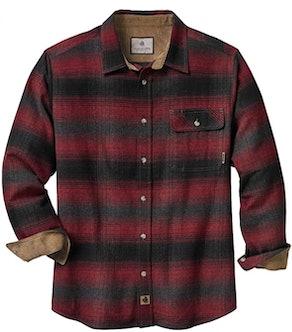 Legendary Whitetails Buck Camp Flannel Shirt