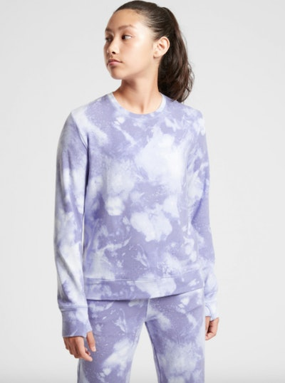 Cozy Printed Crewneck Sweatshirt