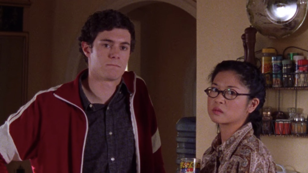 Adam Brody & Keiko Agena in 'Gilmore Girls'