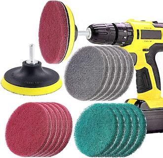 Swpeet Drill Scrubbing Pads
