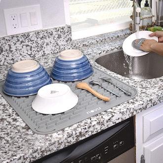 NOVU Silicone Dish Drying Mat