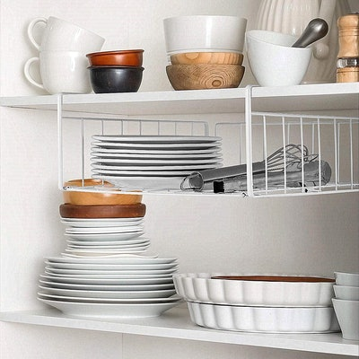SimpleTrending Under Cabinet Organizer Shelf